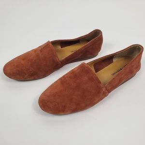 Lucky Brand Brettany Suede Flats Size 11